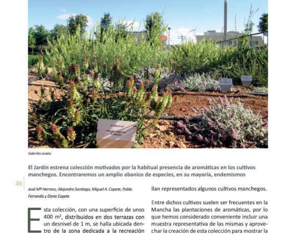 Recursos fitogen ticos instituto bot nico for Jardin botanico castilla la mancha