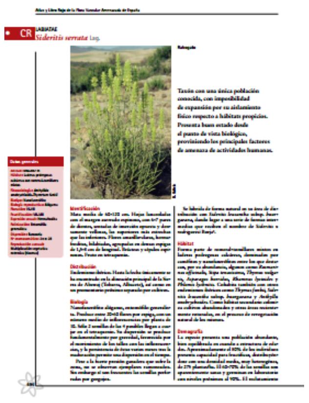 Annual dormancy cycles in buried seeds of shrub species: germination ecology of Sideritis serrata (Labiatae).